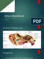 Fistula Preaurikular Ppt