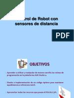 Control Robot Sensores Distancia