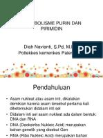 Metabolisme Purin Dan Pirimidin Dee