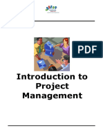 Intro to Project Management Manual
