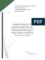 Lab.N02 Granulometría Del Agregado Grueso y Fino