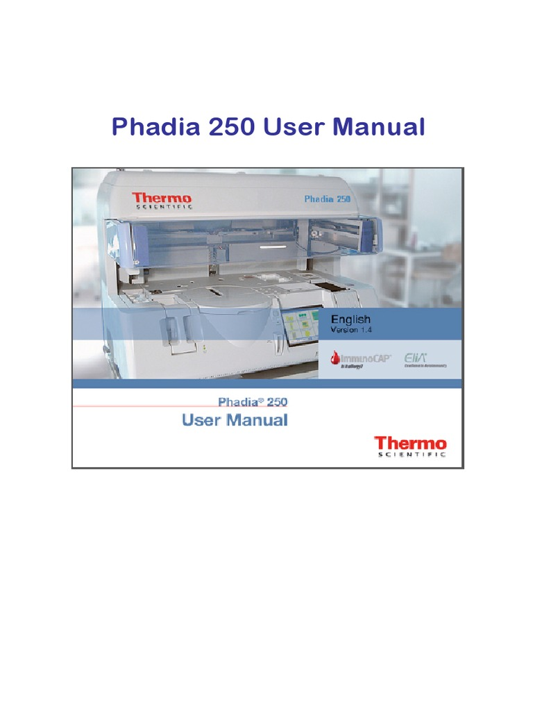phadia 250 user manual v 1 4 en public health infection rh scribd com
