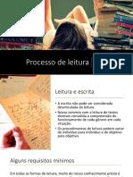 Processo de Leitura - Adaptado