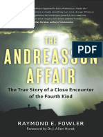 The Andreasson Affair - Raymond E. Fowler