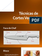 Técnicas de Cortes Vegetais