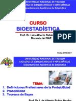 Clase 01 Probabilidades Bioestadistica 2017
