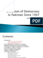 Lecture No. 14-Evolution of Democracy in Pakistan Since 1947.pptx