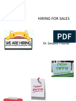 Sales Force Hiring F