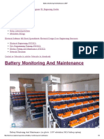 Battery Monitoring and Maintenance _ EEP