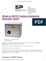 What is HIPOT Testing (Dielectric Strength Test)_ _ EEP