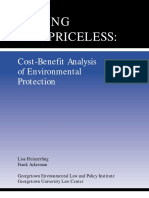 Cost-Benefit Analysis of Environmental Protection