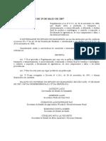Decreto Nº 23.118 de 29 de Maio de 2007