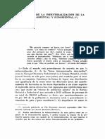 Problemas de La Industrialización de La Europa Oriental y Sudoriental; Rosenstein-Rodan, P.