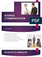 Lecture#1 Business Communication