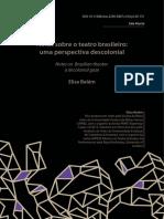 110637-215621-1-PB Artigo Sala Preta - Notas Sobre o Teatro Brasieliro Uma Perspectiva Descolonial