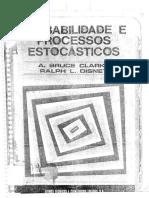 Probabilidade e Processos Estocásticos