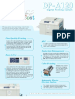 DP-A120 Duplicator Brochure