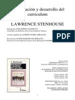 Stenhouse - Investigación y desarrollo del currículum - Capitulo XIV.pdf