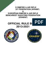 Wrabf & Erabsf Rulebook 2013- 2021