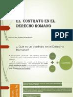 El Contrato en El Derecho Romano- Expo