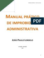 Improbidade Administrativa - Joao Paulo Lordelo