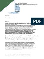 Otvoreno pismo za UNS i NUNS