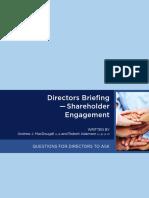Shareholder Engagement