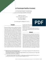 Avances en La Psicoterapia Analítica Funcional