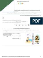 Portal Académico - 1.8 Matemáticas 1 - Unidad 1 - Números Enteros