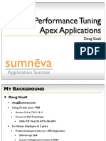 Performance Tuning Apex Applications