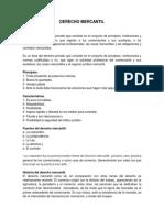 1. Der. Mercantil, Introducción