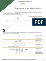 Portal Académico - 2.5 Matemáticas 1 - Unidad 1 - Conversiones Decimales