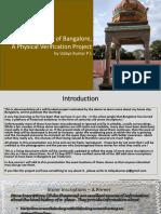 Stone Inscriptions of Bangalore