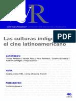 Sartingen y Reitböck_Las Culturas Indigenas en El Cine Latinoamericano