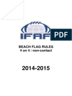 Ifaf Beach Flag Rules 2014