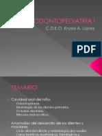 Introduccion Odontopediatria I