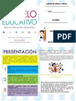Modelo Educativo 2017 de Bolsillo para secundaria