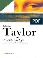Fuentes Del Yo - Charles Taylor
