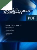 Metodos de Excavacion y Sistemas Constructivos