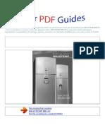 Manual Do Usuário BRASTEMP BRU49 P