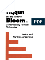 Pedro Jose Mariblanca Corrales Tiqqun and the Matter of Bloom in Contemporary Political Philosophy 1