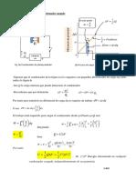 Energía almacenada en un condensador