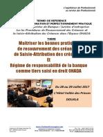 TDR Seminaire Recouvrement