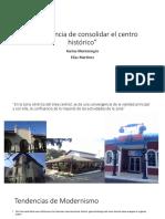 Importancia de Consolidar El Centro Histórico