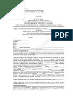 Lampiran VI Akta Notaris Pengakuan Yayasan Dll Sbg BHP Penyelenggara