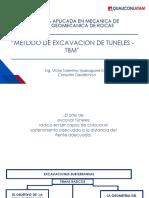 Metodo de excavacion de tuneles TBM