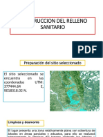 Fase de Construcción de Relleno Sanitario- GUIA MINAM PERU