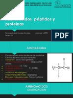 Aminoacidos, Peptidos y Proteinas