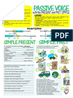 Passive Voice With Simple Present and Past