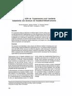 Extracción de ADN de Trypanosoma Cruzi